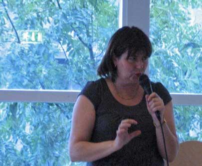 Kriminalförfattaren Anna Jansson