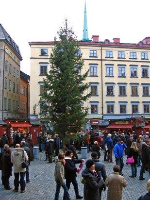 Stortorgets julmarknad i Gamla stan, Stockholm