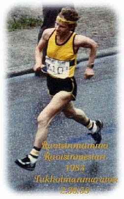 Tuulikki vann Stockholm maraton 1983