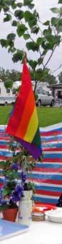 Regnbågsflagga