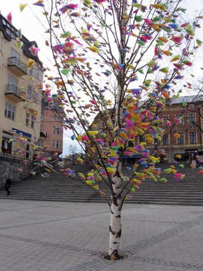 Södertälje påskträd