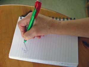 Skriv en kärlekstanka
