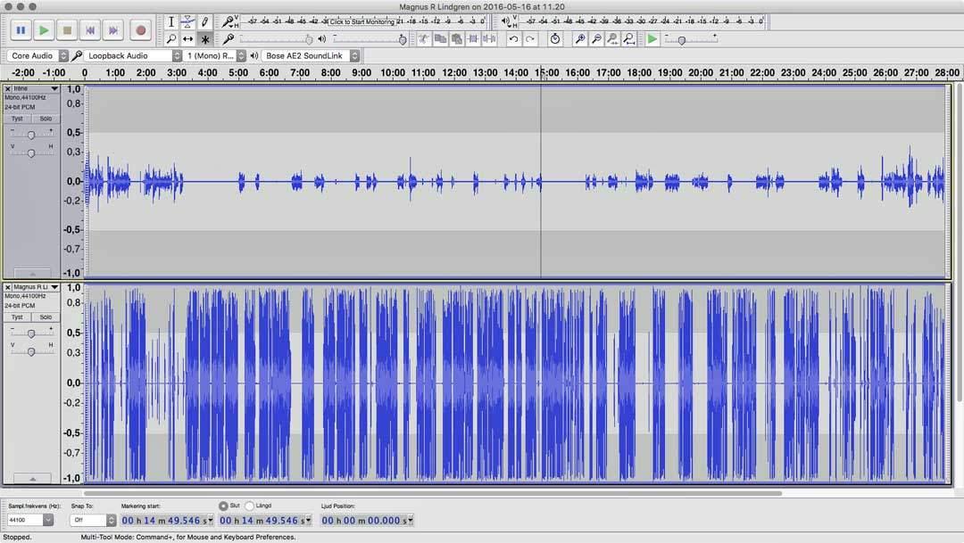 Redigera ett poddavsnitt – Podcastguiden del 5