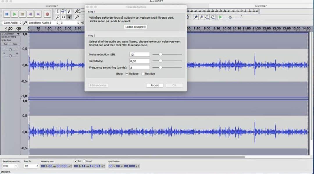 Förbättra ljudet i din podd