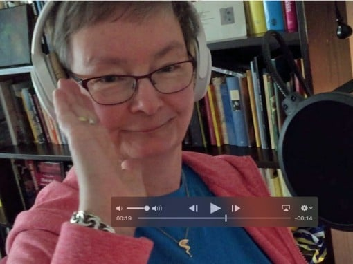Videotrailer för avsnitt 002 i Poetpodden