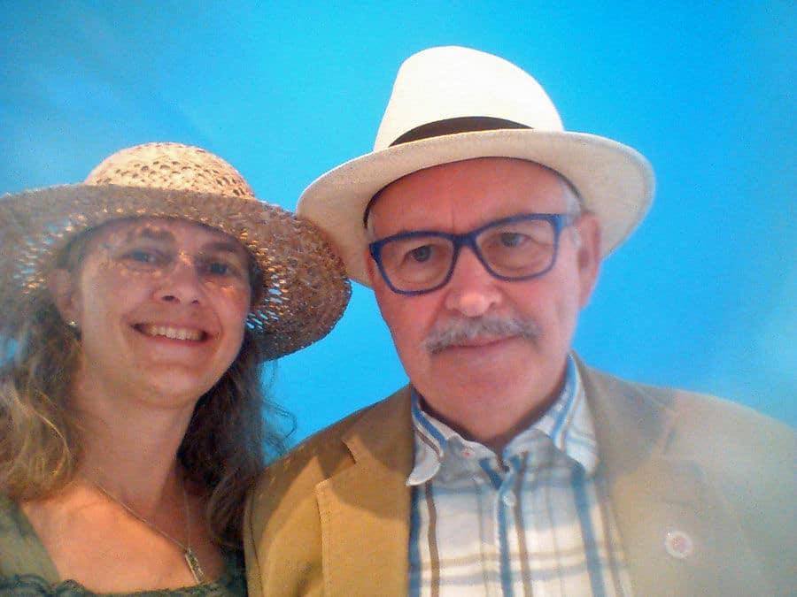 Yvonne Andersson och Åke Bjurhamn