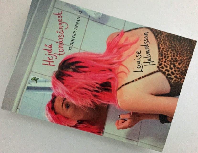 Hejdå tonårsångest en diktsamling av Louise Halvardsson