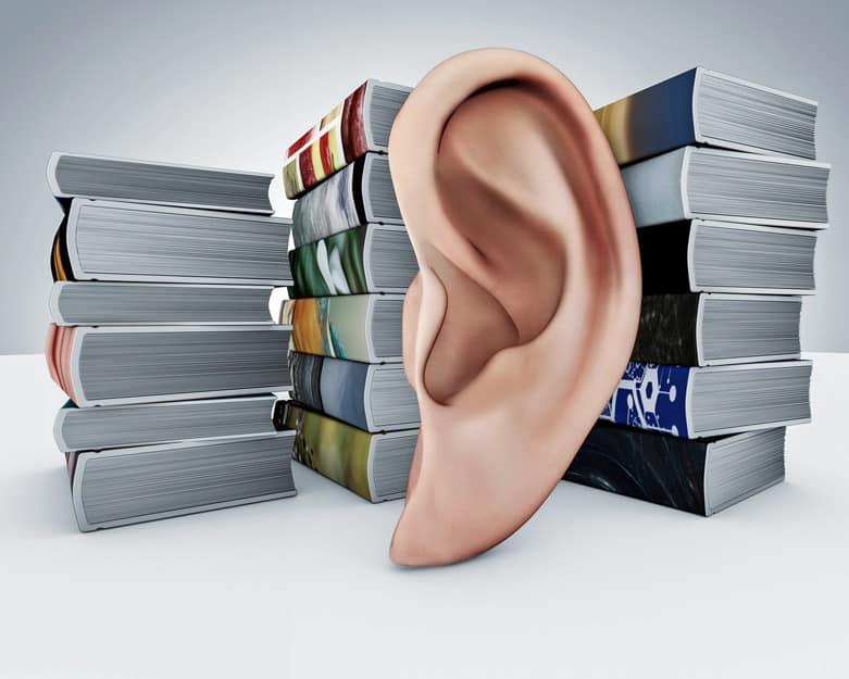 Ljudböcker är inte min grej