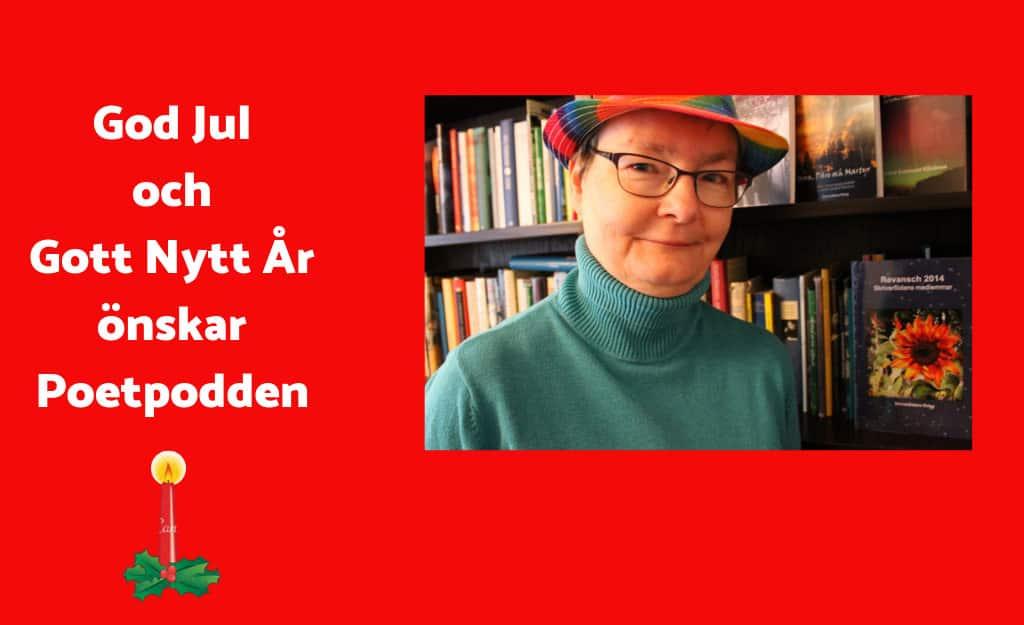 Julepoesi och lyssnarfrågor – avsnitt 52 i Poetpodden