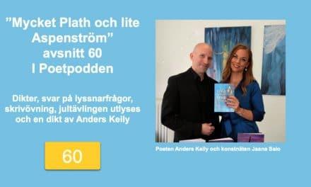 Mycket Plath och lite Aspenström – avsnitt 60 i Poetpodden