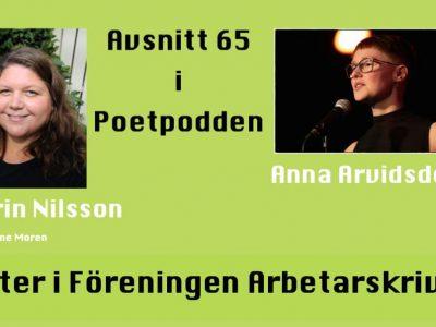Poeter i Föreningen Arbetarskrivare– avsnitt 65 i Poetpodden