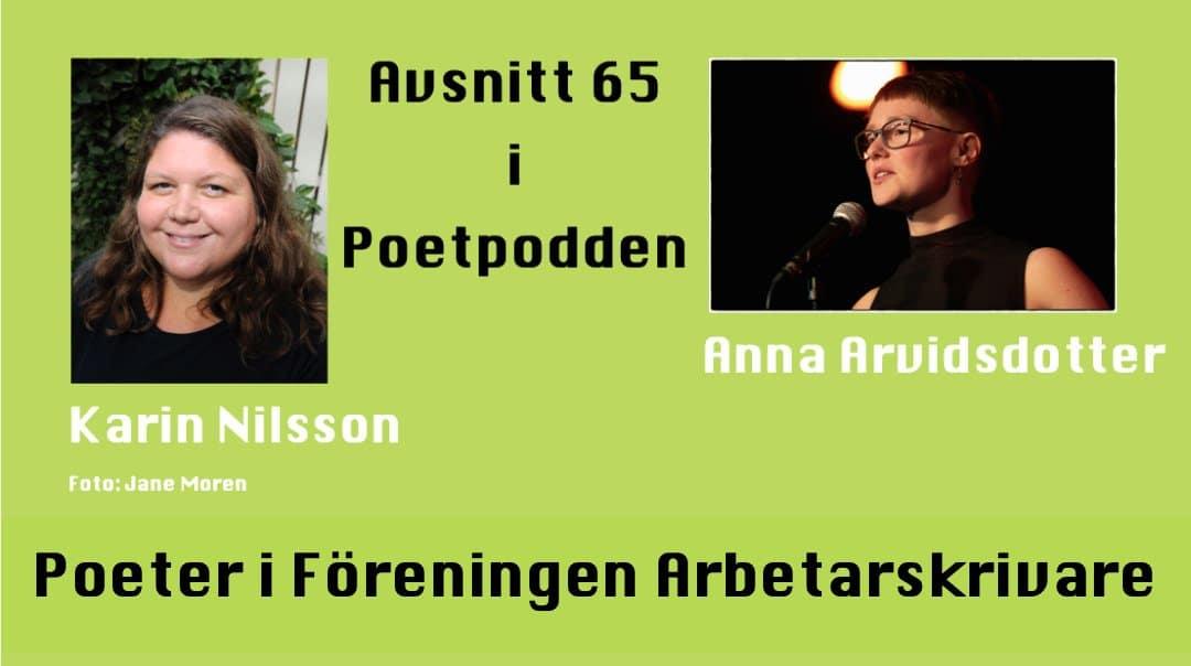 Poeter i Föreningen Arbetarskrivare