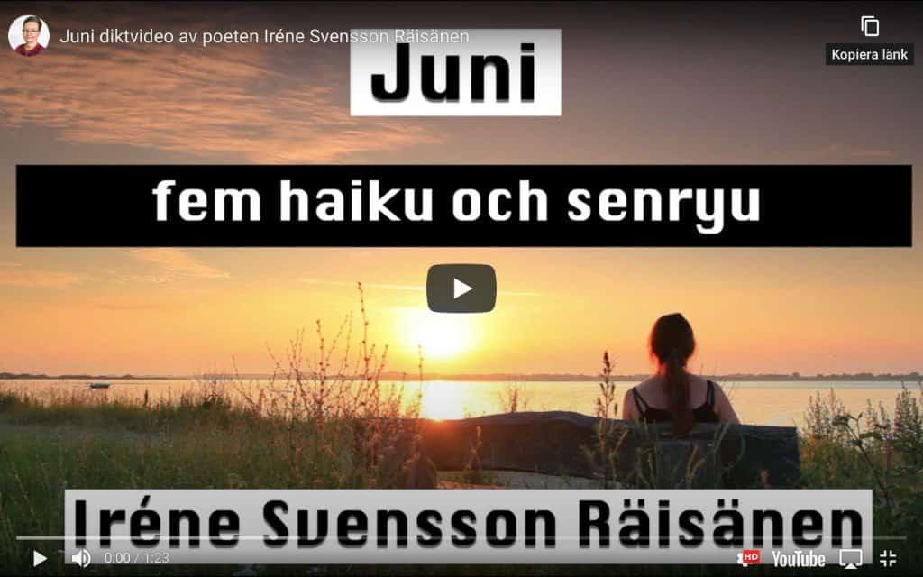 Juni – Diktvideo